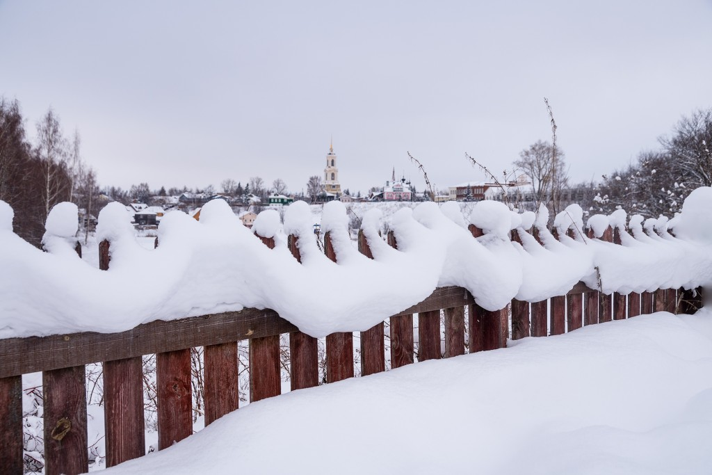 Нет, никогда такого снега еще не видела зима 01