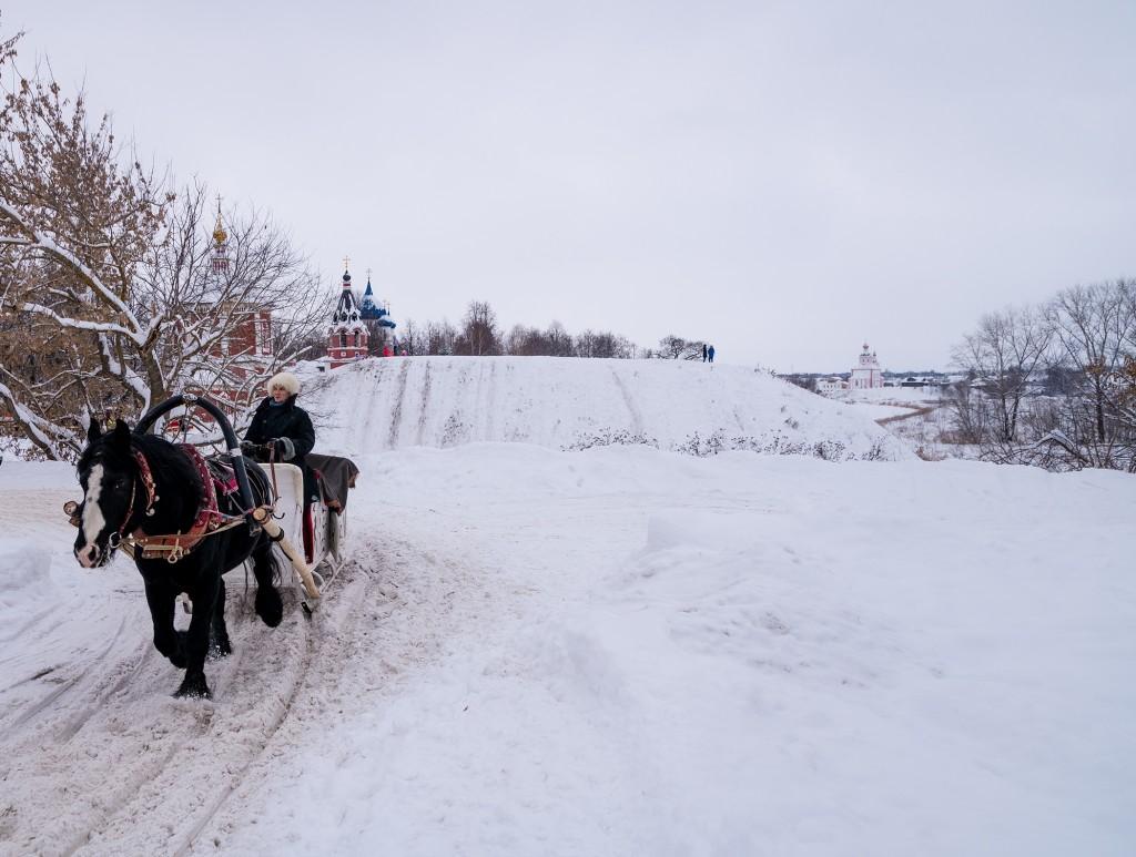 Сады огромные, охваченные снегом 07
