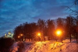 Январские морозные вечера во Владимире 2019