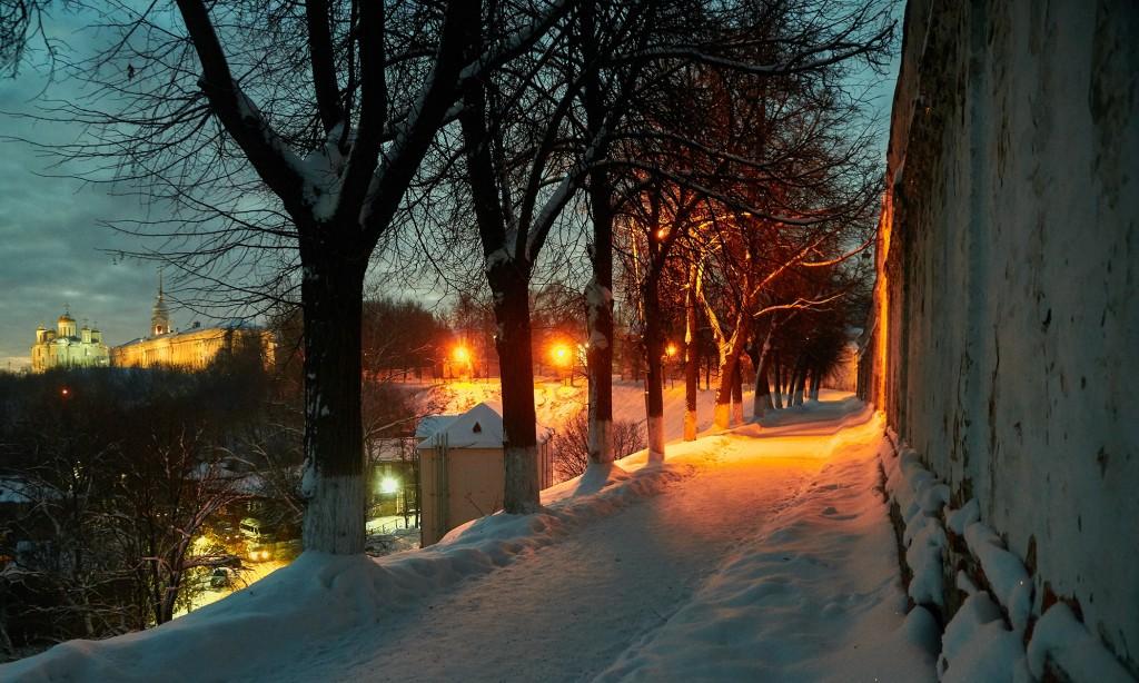 Январские морозные вечера во Владимире 02