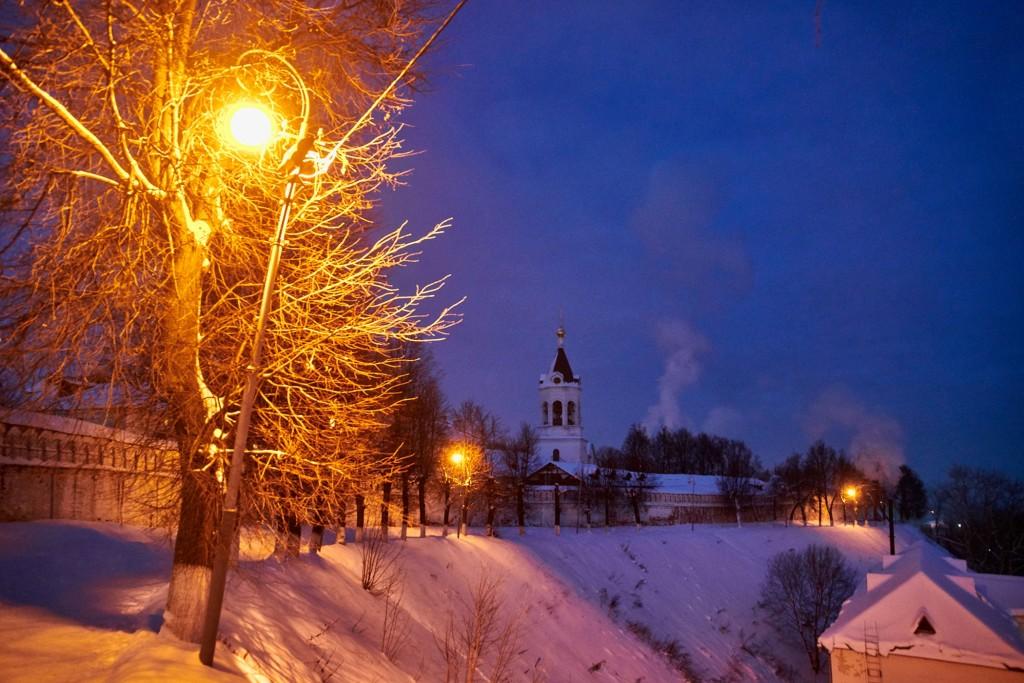 Январские морозные вечера во Владимире 03