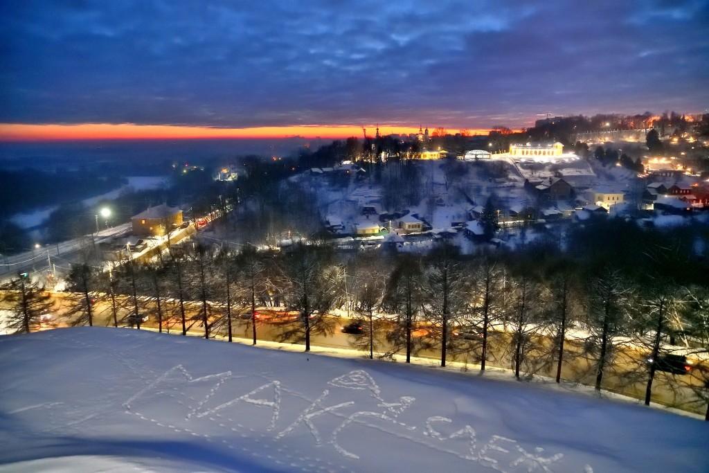 Январские морозные вечера во Владимире 05