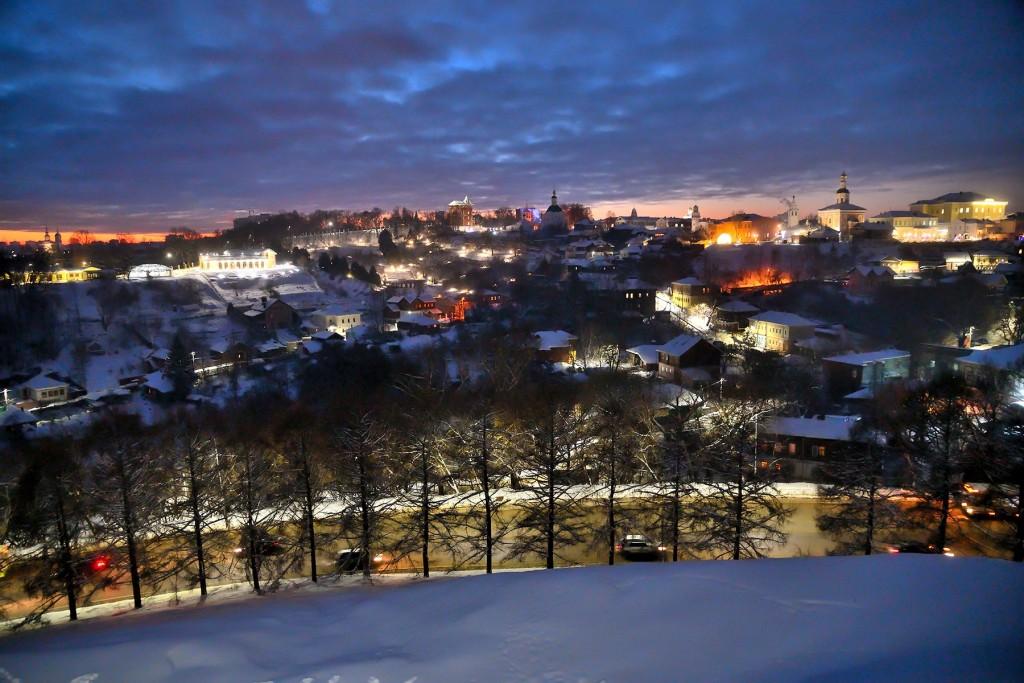 Январские морозные вечера во Владимире 08
