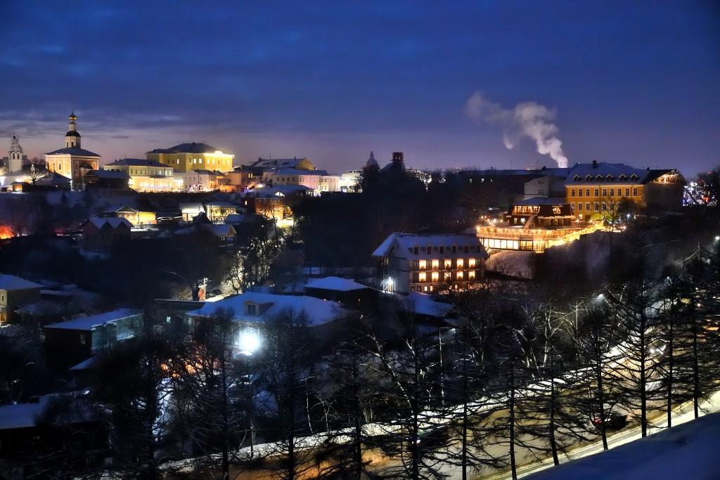 Январские морозные вечера во Владимире 10