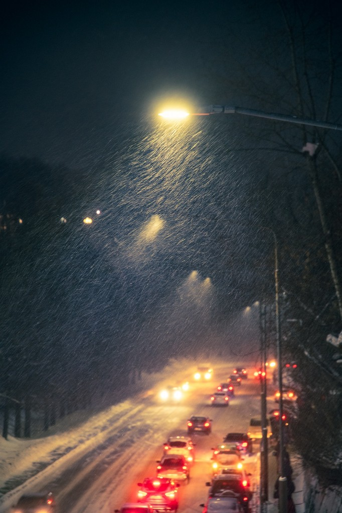 Январские открытки... Шел снег... 02