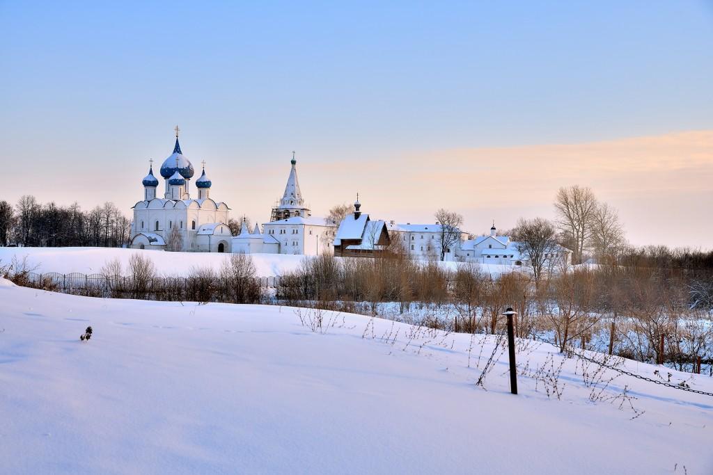 морозный Суздаль, 28 декабря, 2018 года. 01
