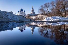 Покрова-на-Нерли, Боголюбово, Владимирская область, февраль 2019