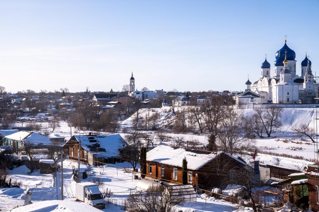 Покрова-на-Нерли, Боголюбово, Владимирская область, февраль 2019 08