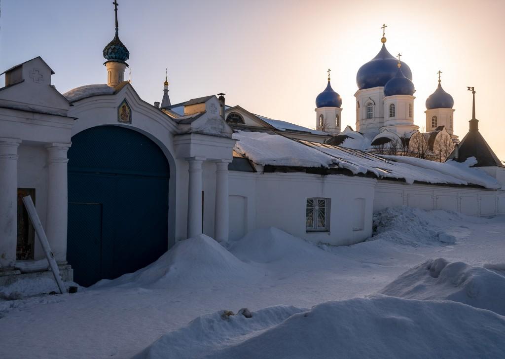 Покрова-на-Нерли, Боголюбово, Владимирская область, февраль 2019 10