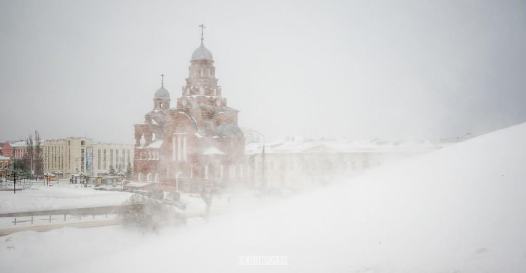 Пурга во Владимире 01