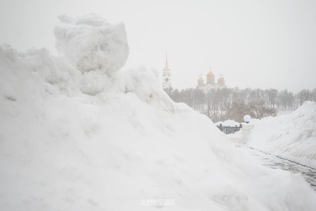 Пурга во Владимире 06