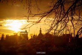 2019_02_16 Закат во Владимире