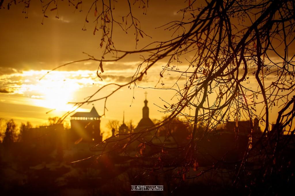 2019_02_16 Закат во Владимире 01