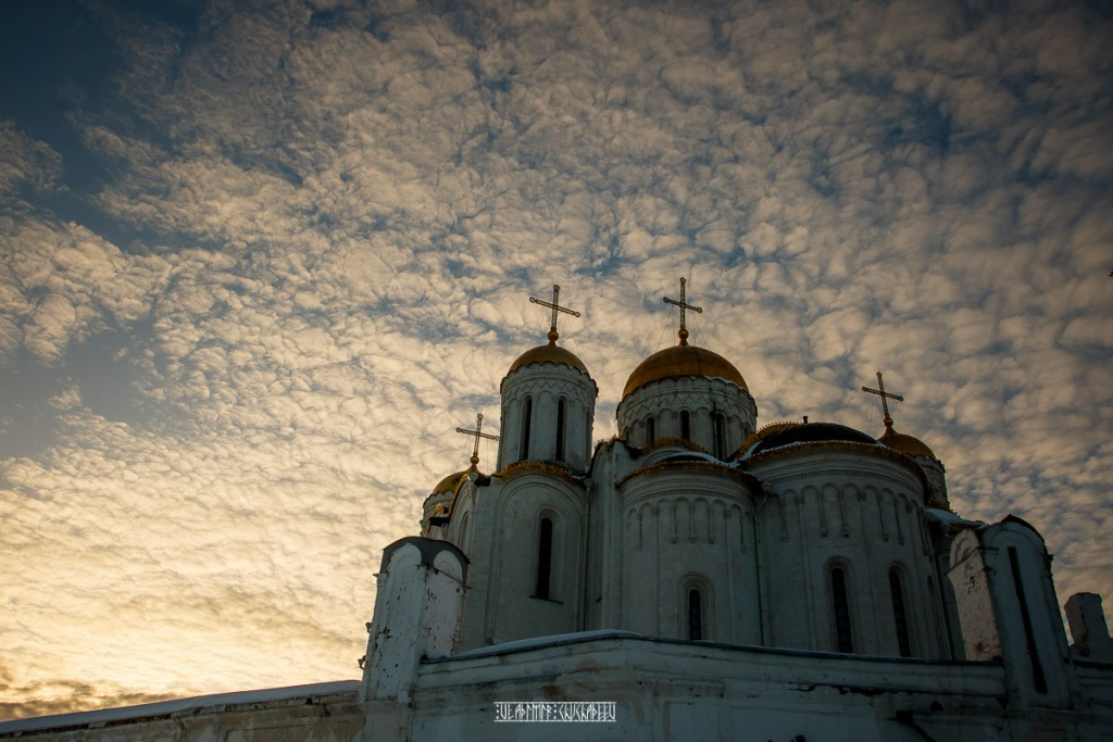 2019_02_16 Закат во Владимире 05