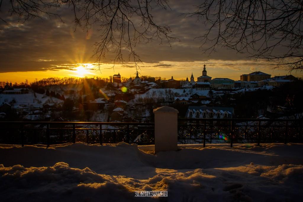 2019_02_16 Закат во Владимире 07