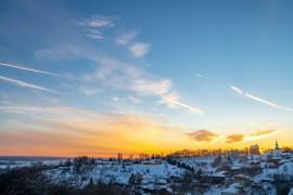 Про Владимирские закаты в марте