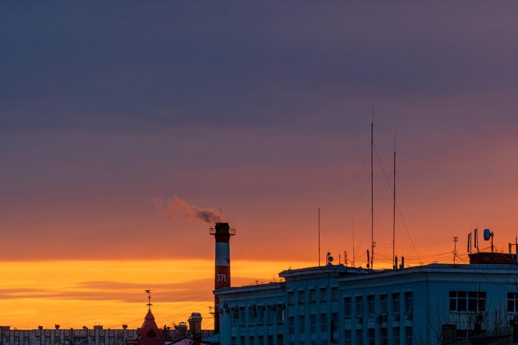 Апрельский закат во Владимире 07