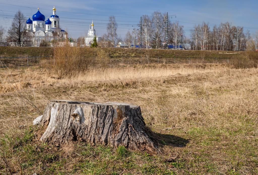 Разлив со стороны Боголюбовского женского монастыря 05