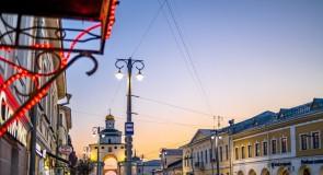 Обычный апрельский вечер во Владимире