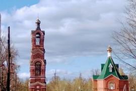 г. Меленки, Церковь, да колокольня