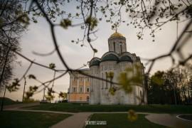 2019_04_29 Закат в центре Владимира