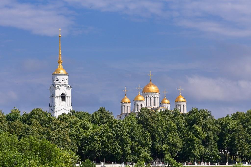 Жаркие летние дни во Владимире 2019 04