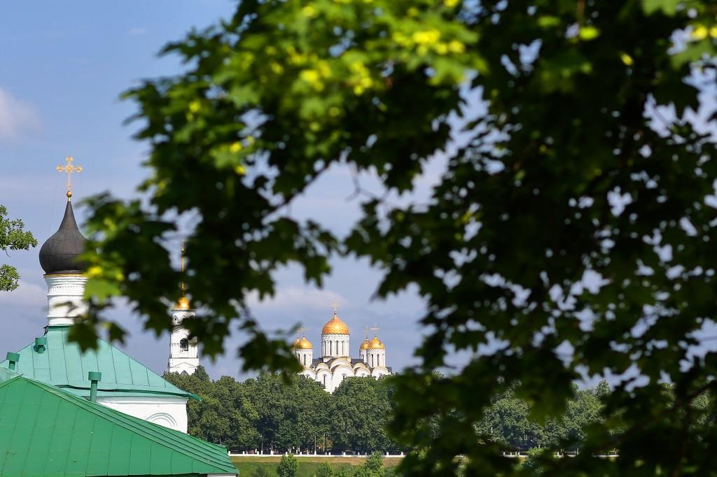 Жаркие летние дни во Владимире 2019 07