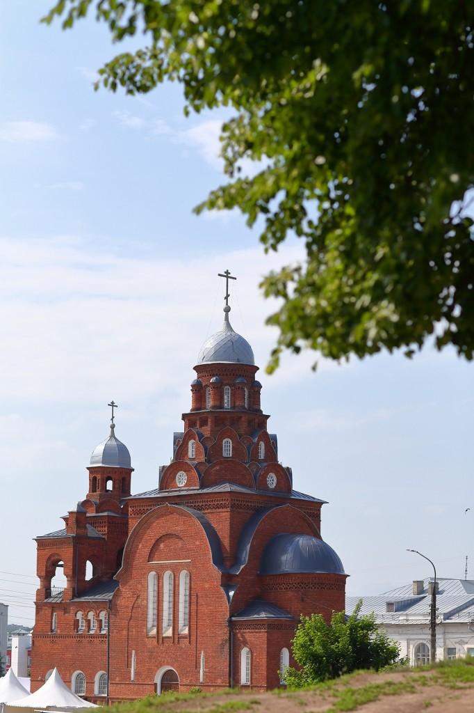 Жаркие летние дни во Владимире 2019 09