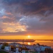 Закат над Волгой… (Нижний Новгород)