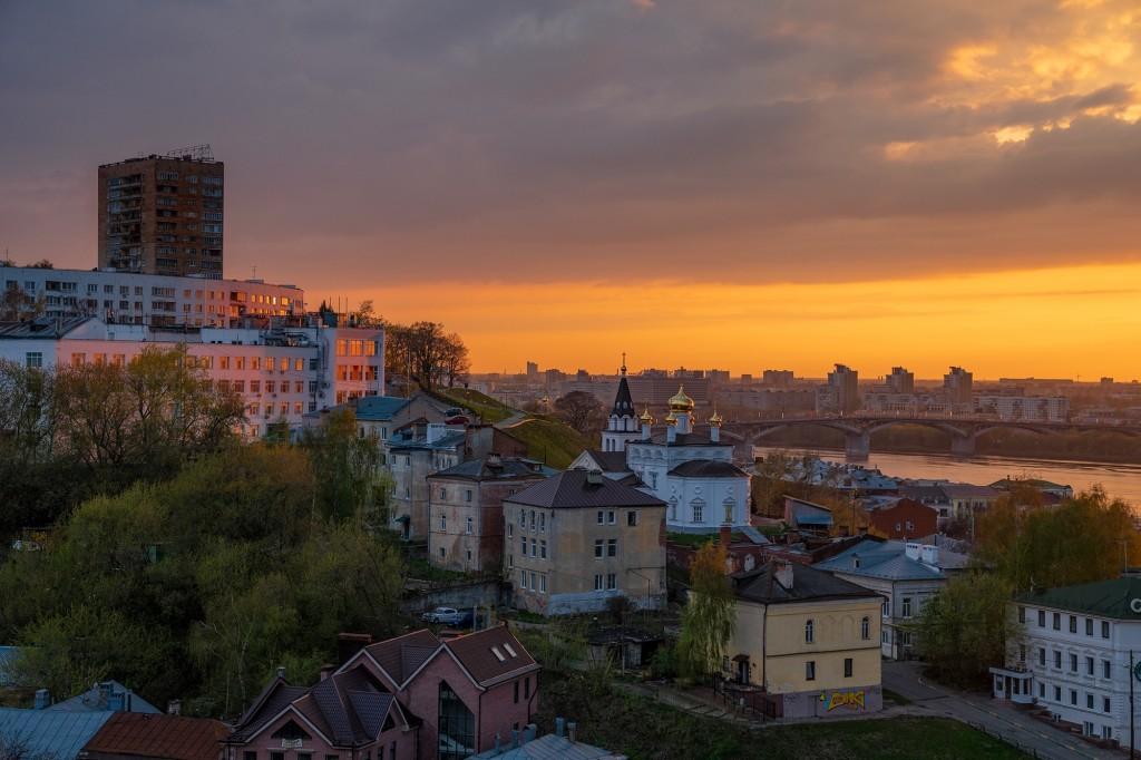 Закат над Волгой... (Нижний Новгород) 02