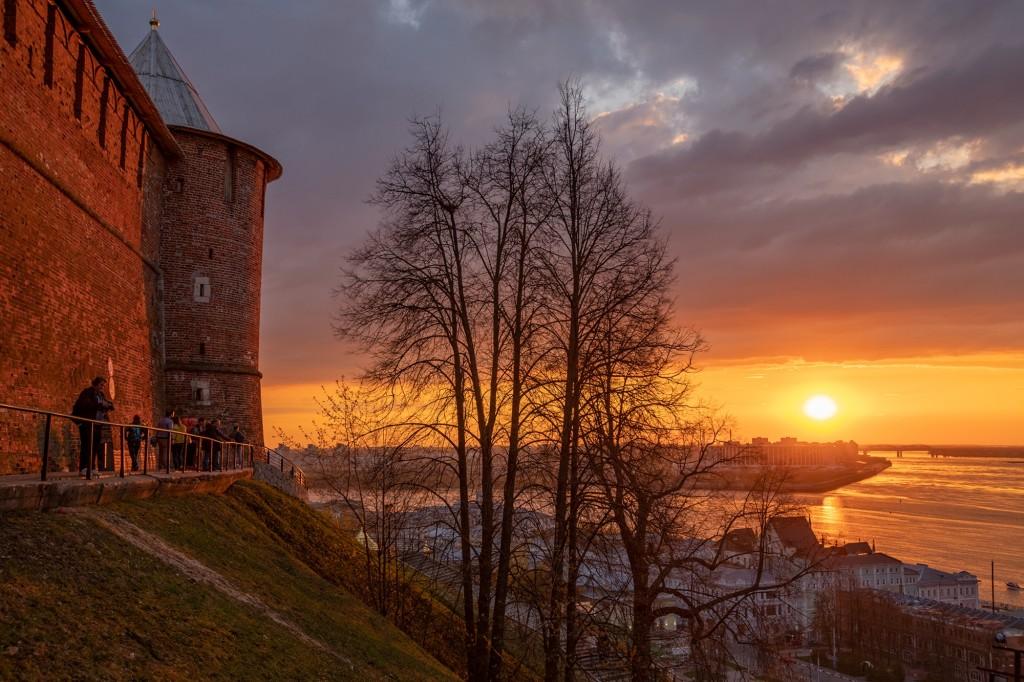 Закат над Волгой... (Нижний Новгород) 03