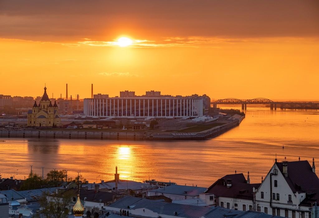 Закат над Волгой... (Нижний Новгород) 04