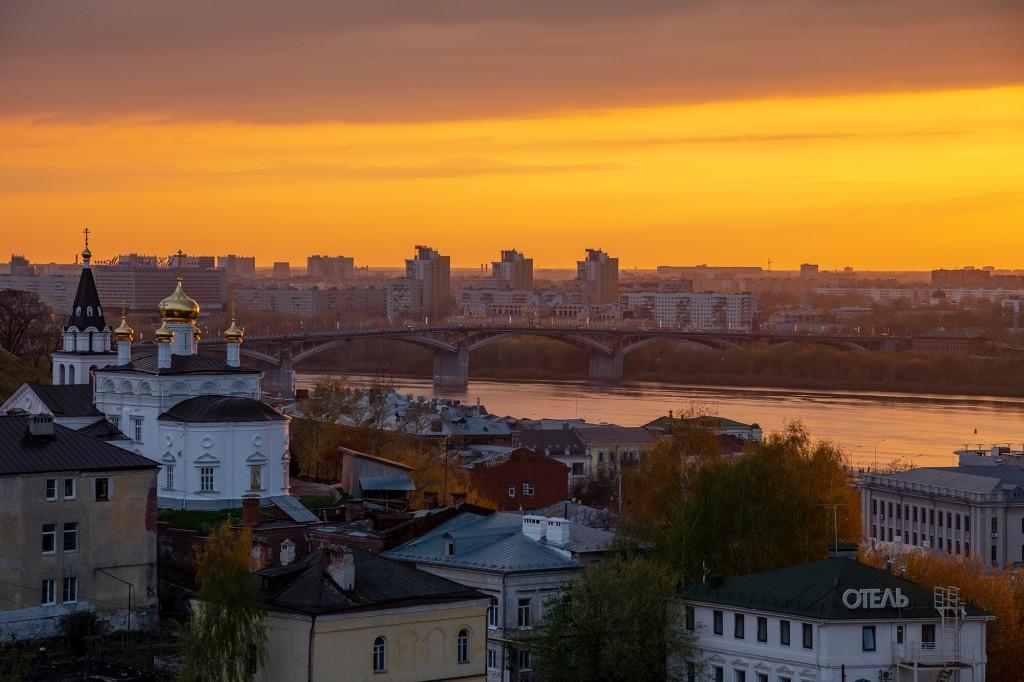 Закат над Волгой... (Нижний Новгород) 05
