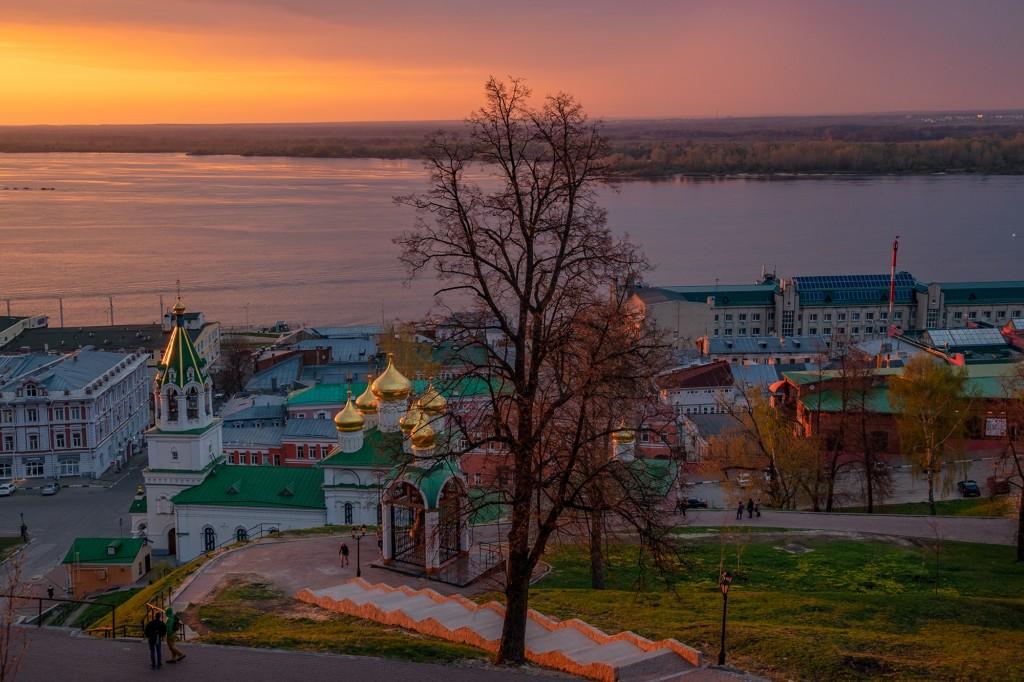 Закат над Волгой... (Нижний Новгород) 06