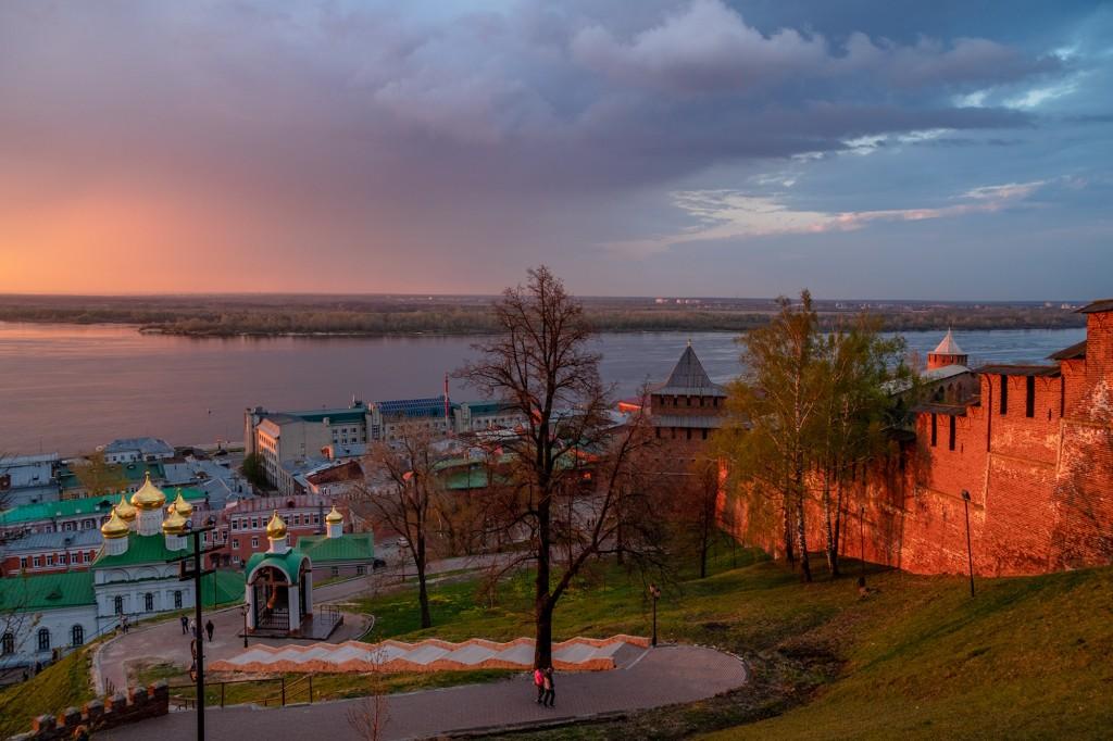 Закат над Волгой... (Нижний Новгород) 08