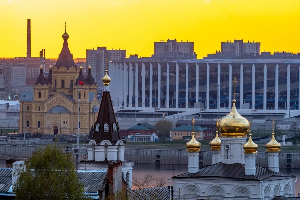 Закат над Волгой... (Нижний Новгород) 09
