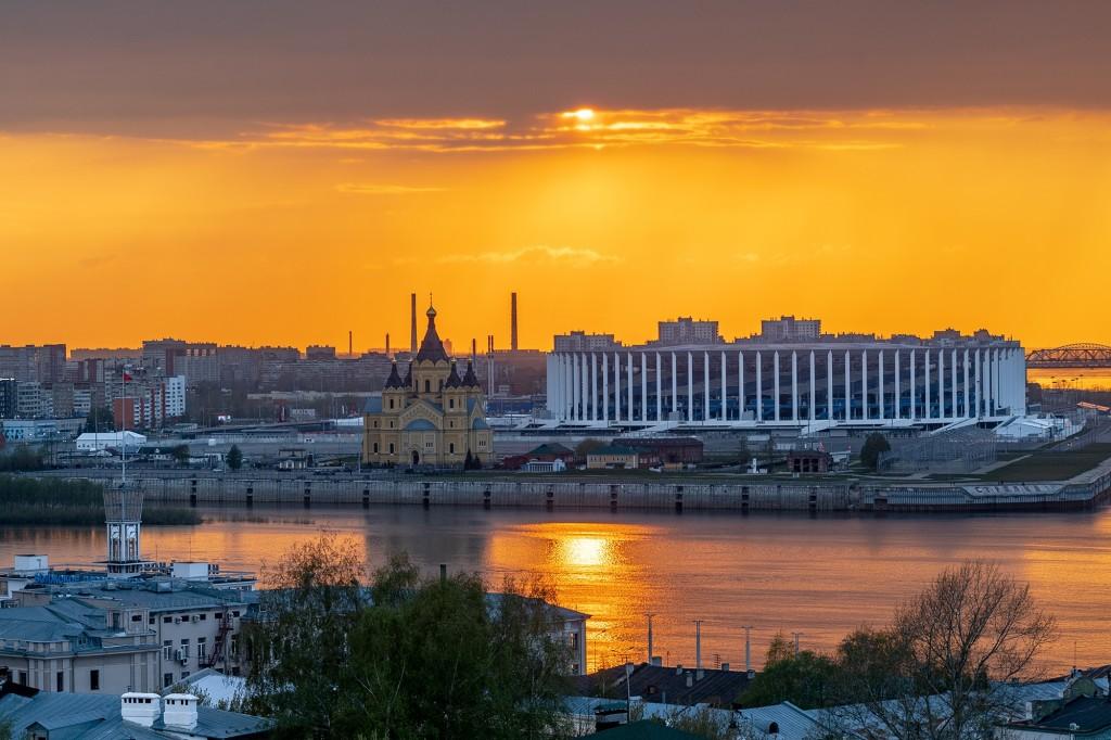 Закат над Волгой... (Нижний Новгород) 10