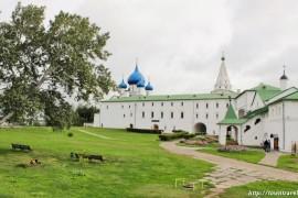 Краткая история Суздальского кремля
