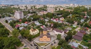 Армянская церковь во Владимире с высоты
