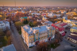 Владимирский государственный педагогический университет с высоты