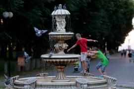 Владимир, июнь, жара 2019