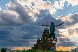 Город Владимир. Полеты во сне и наяву.