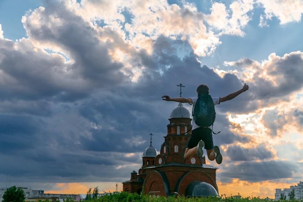 Город Владимир. Полеты во сне и наяву. 01