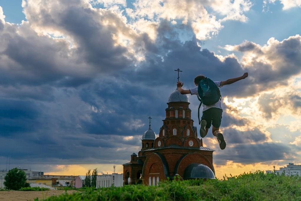 Город Владимир. Полеты во сне и наяву. 03