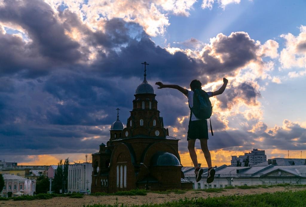 Город Владимир. Полеты во сне и наяву. 07