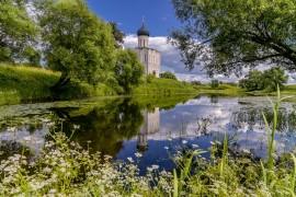 Боголюбово и Покрова-на-Нерли — Потрясающей, истинно русской красоты, место