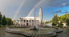 Прекрасная радуга над Владимиром
