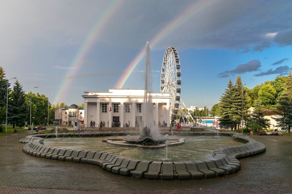 Прекрасная радуга над Владимиром 01