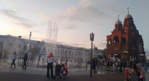 У театрального фонтана (стихи, г. Владимир)
