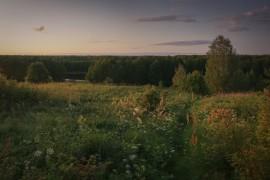 Владимирщина. Тёплые тона закатов августа.